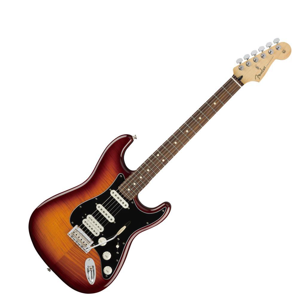 フェンダー プレイヤー ストラトキャスター HSS プラストップ Fender Player Stratocaster HSS Plus Top PF TBS エレキギター