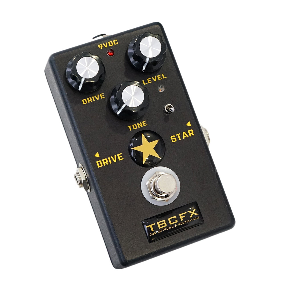 TBCFX DRIVE★STAR BLACK ギターエフェクター