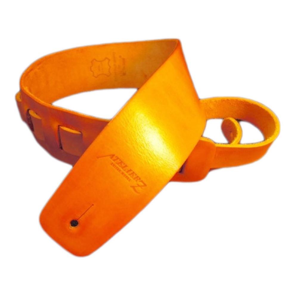 ATELIER Z ZHS-CLC00 M Yellow Leather Strap ギター/ベース用ストラップ