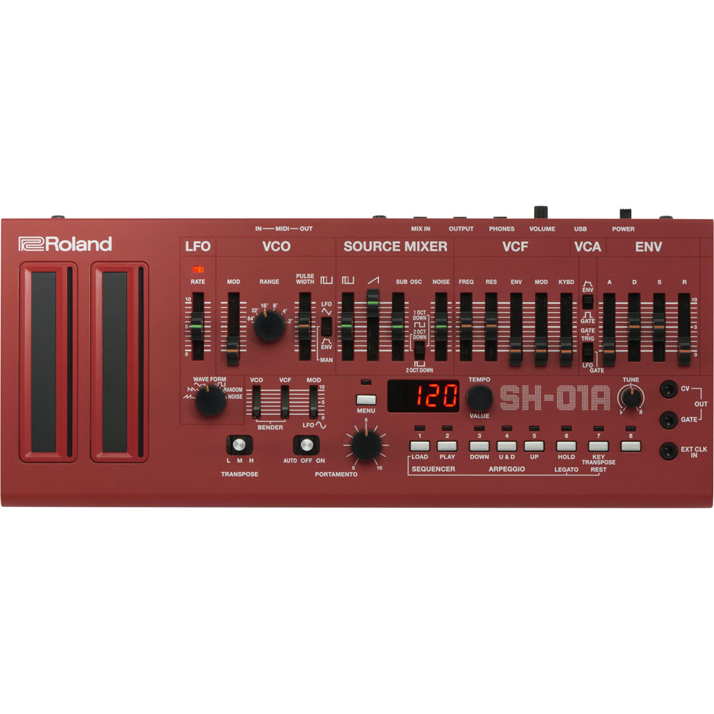 ROLAND Boutique SH-01A-RD Synthesizer Red シンセサイザー