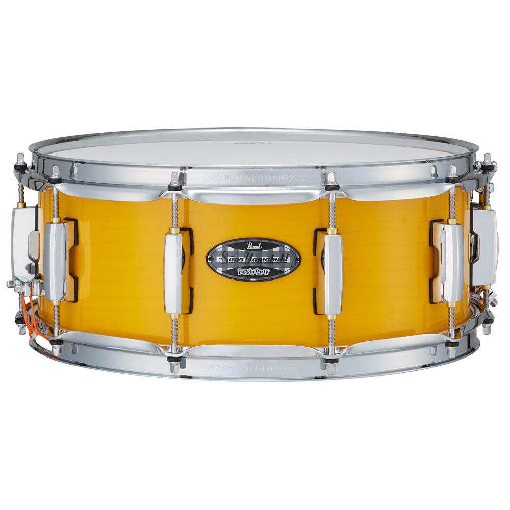 """【予約受付中】 Pearl Signature Snare Drum """"山吹沙綾"""" Model MCT1455S/C-SAYA"""