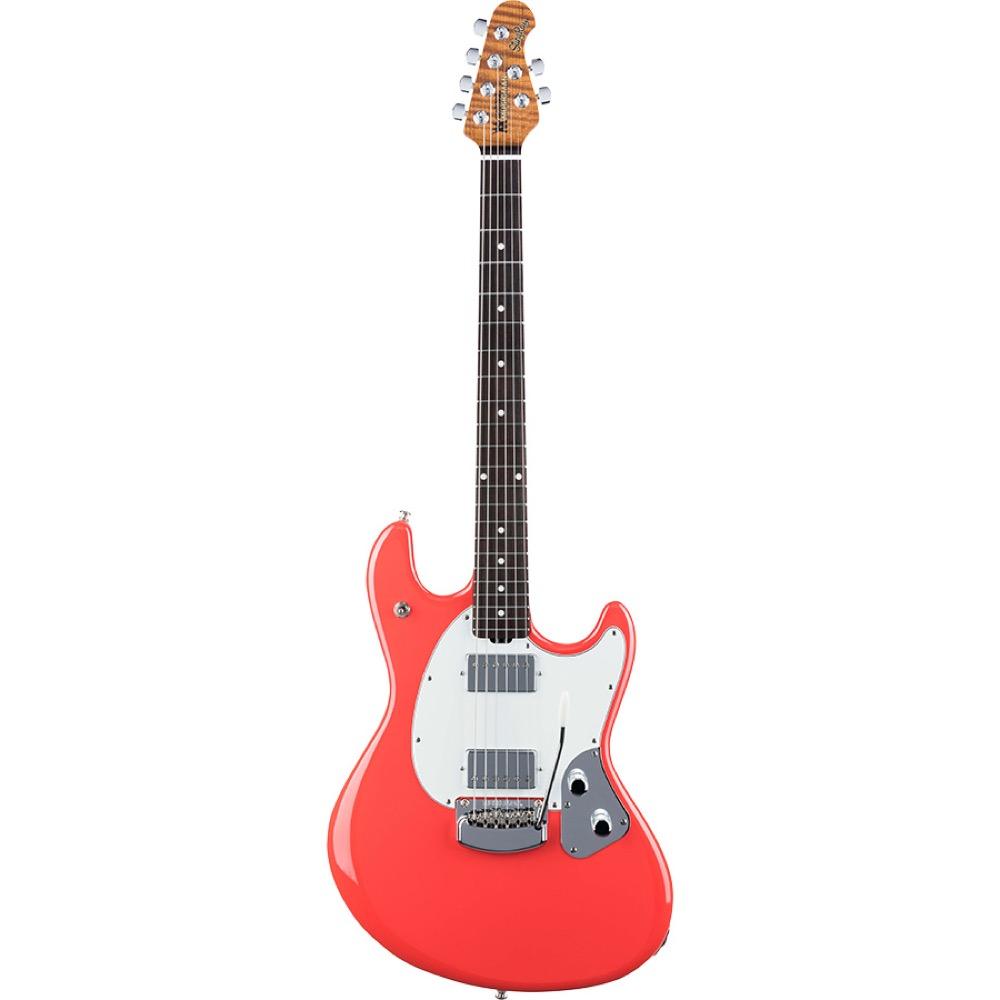 MUSIC MAN StingRay Guitar RS Coral Red エレキギター