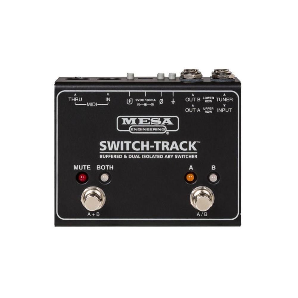 日時指定 メサブギー スイッチトラック スイッチャー ラインセレクター 高い素材 MESA BOOGIE ABY Switcher Isolated Dual SWITCH-TRACK Buffered