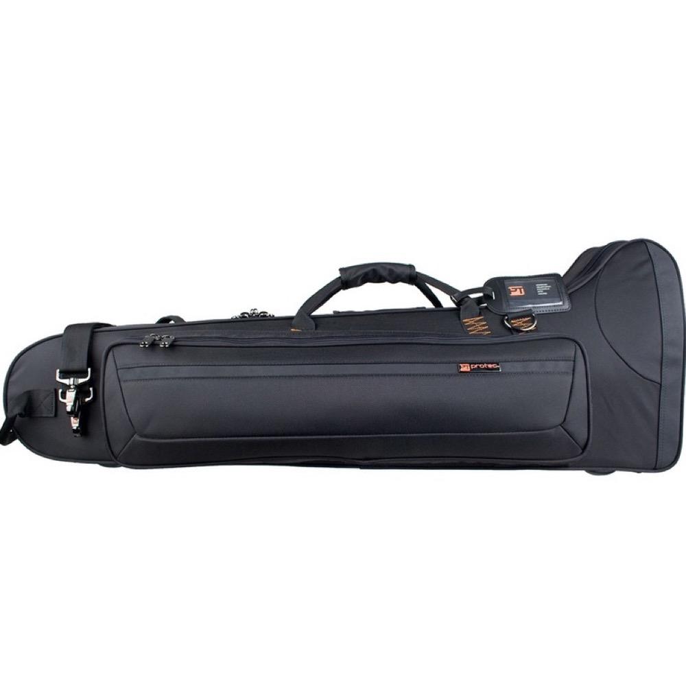 プロテック 管楽器用 テナーバストロンボーン セミハードケース Black PB-306CT 出色 秀逸 PROTEC テナーバストロンボーン用セミハードケース