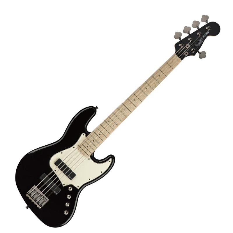 スクワイア Contemporary シリーズ 5弦 ジャズベース Squier Contemporary Active Jazz Bass V HH MN BLK 5弦エレキベース