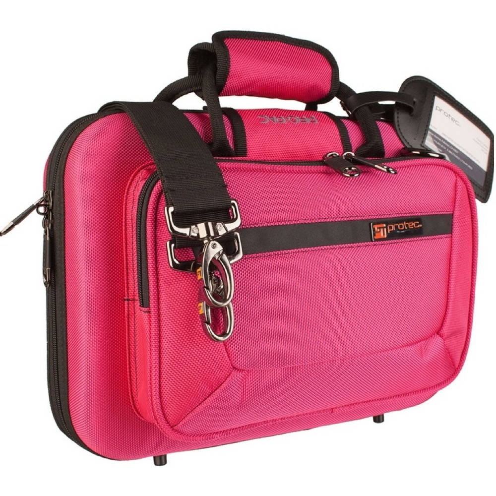 PROTEC PB-307HP Hot Pink B♭クラリネット用セミハードケース