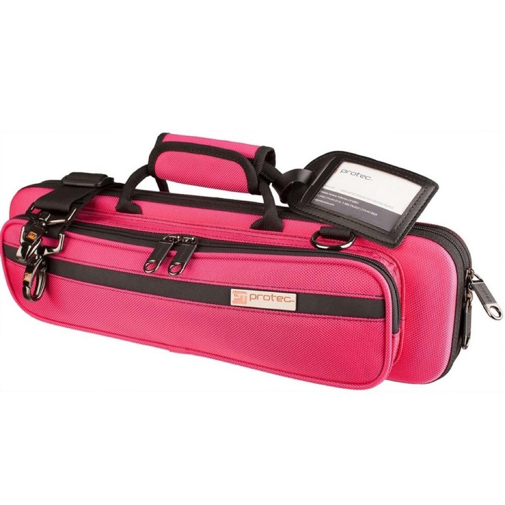 PROTEC PB-308HP Hot Pink フルート用セミハードケース