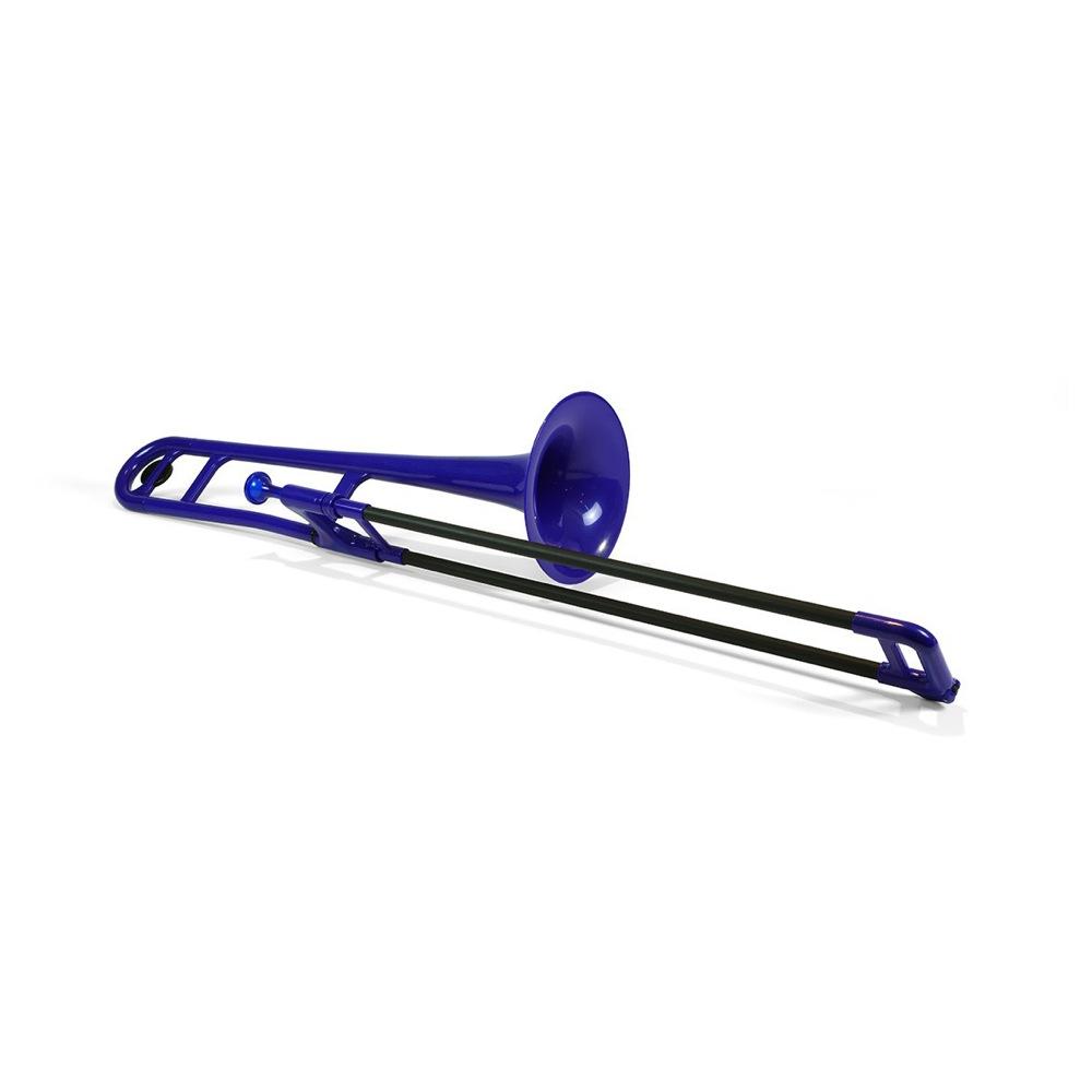 pInstruments PBONE PBONE1B Blue ピーボーン プラスチック製トロンボーン