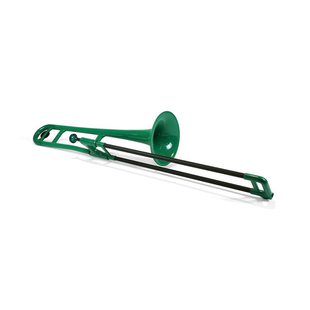 安心の定価販売 ピーボーン プラスチック製テナートロンボーン pInstruments PBONE Green PBONE1G 国際ブランド プラスチック製トロンボーン