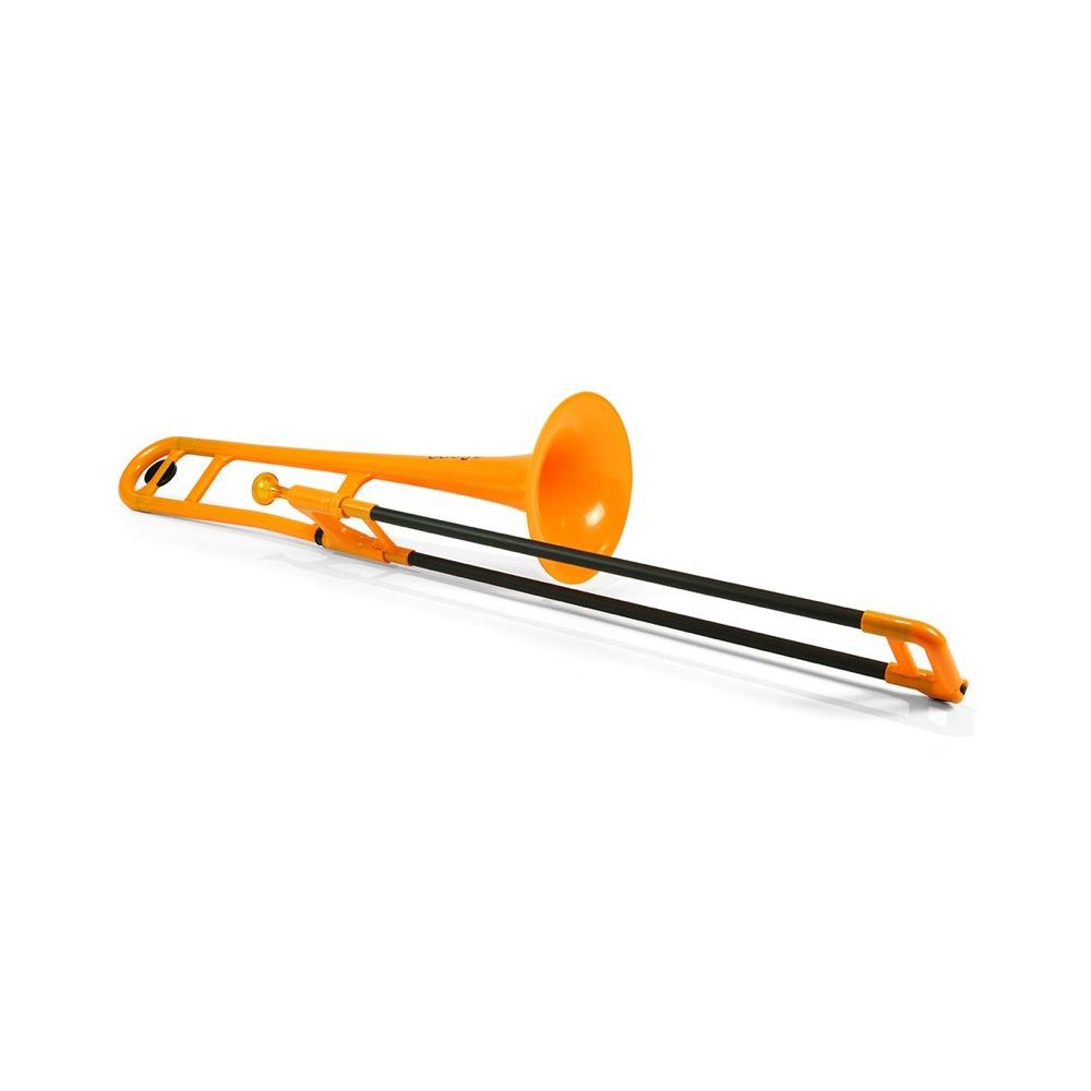 pInstruments PBONE PBONE1O Orange ピーボーン プラスチック製トロンボーン
