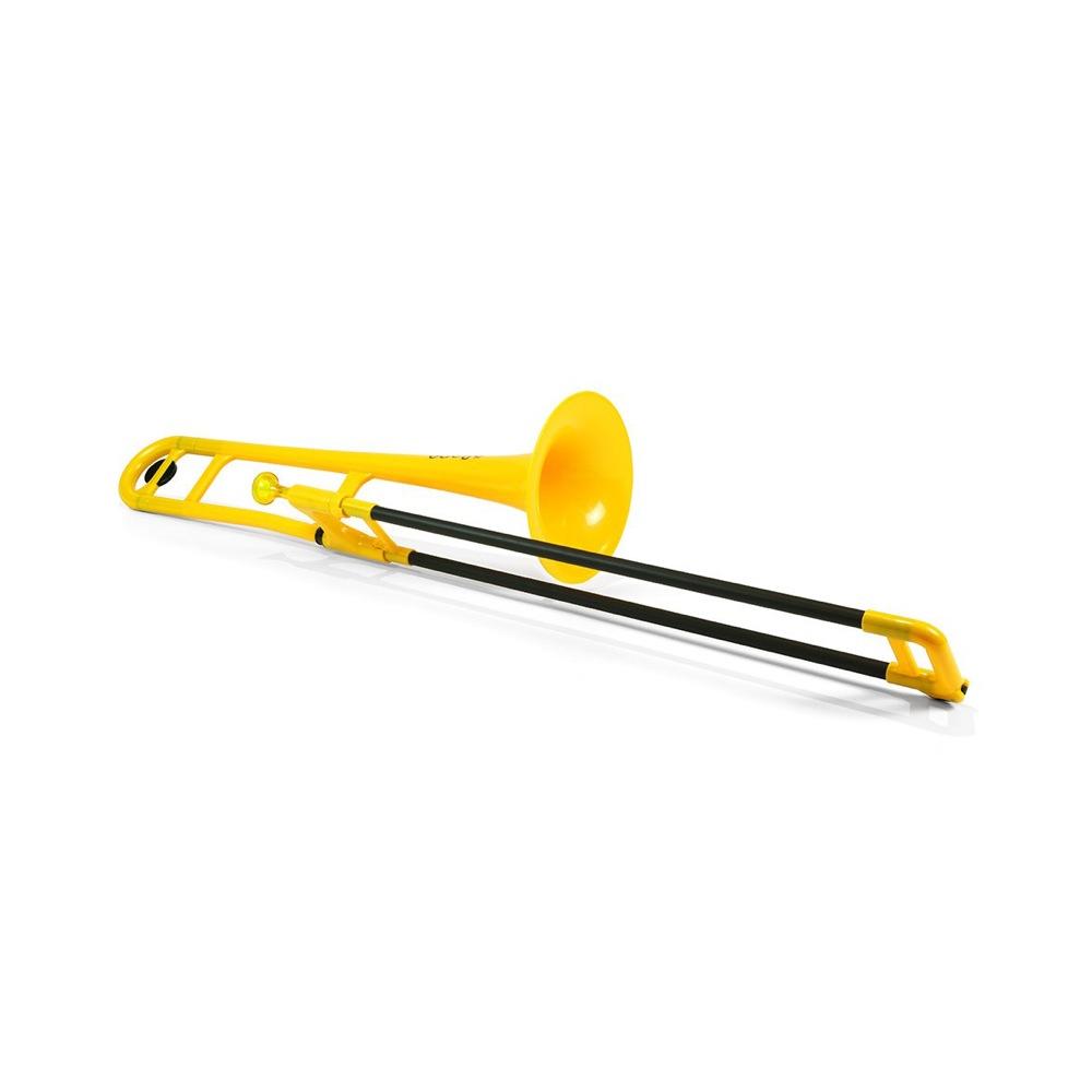 pInstruments PBONE PBONE1Y Yellow ピーボーン プラスチック製トロンボーン