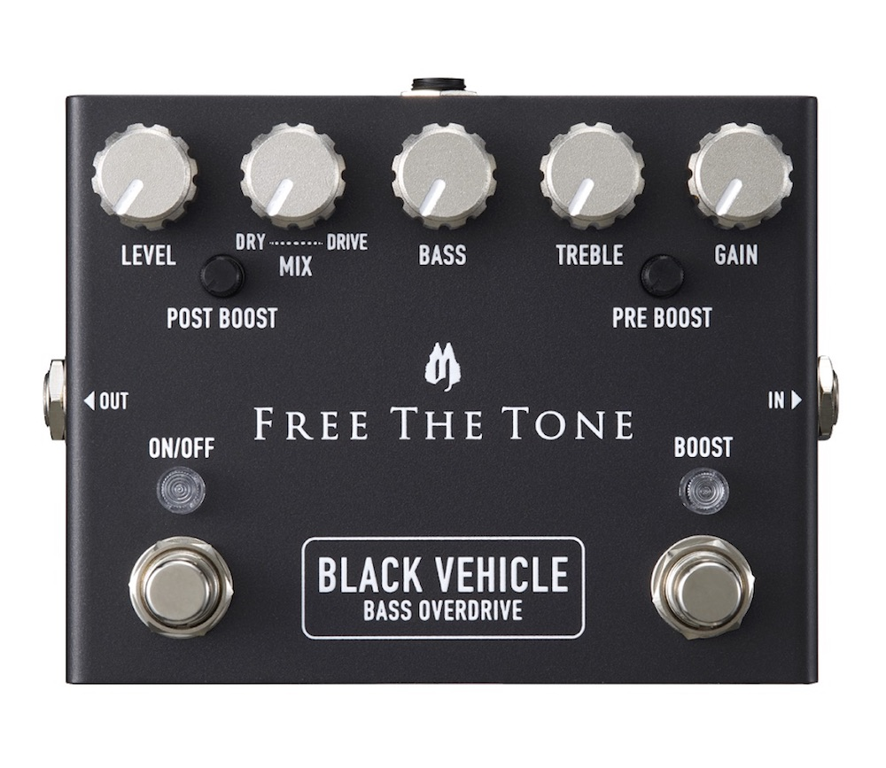 Free The Tone BV-1V BLACK VEHICLE ベース用エフェクター