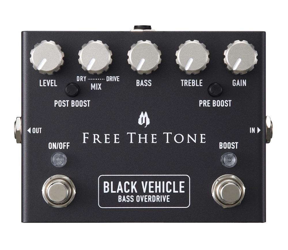Free The Tone BV-1V BLACK VEHICLE ベース用エフェクター
