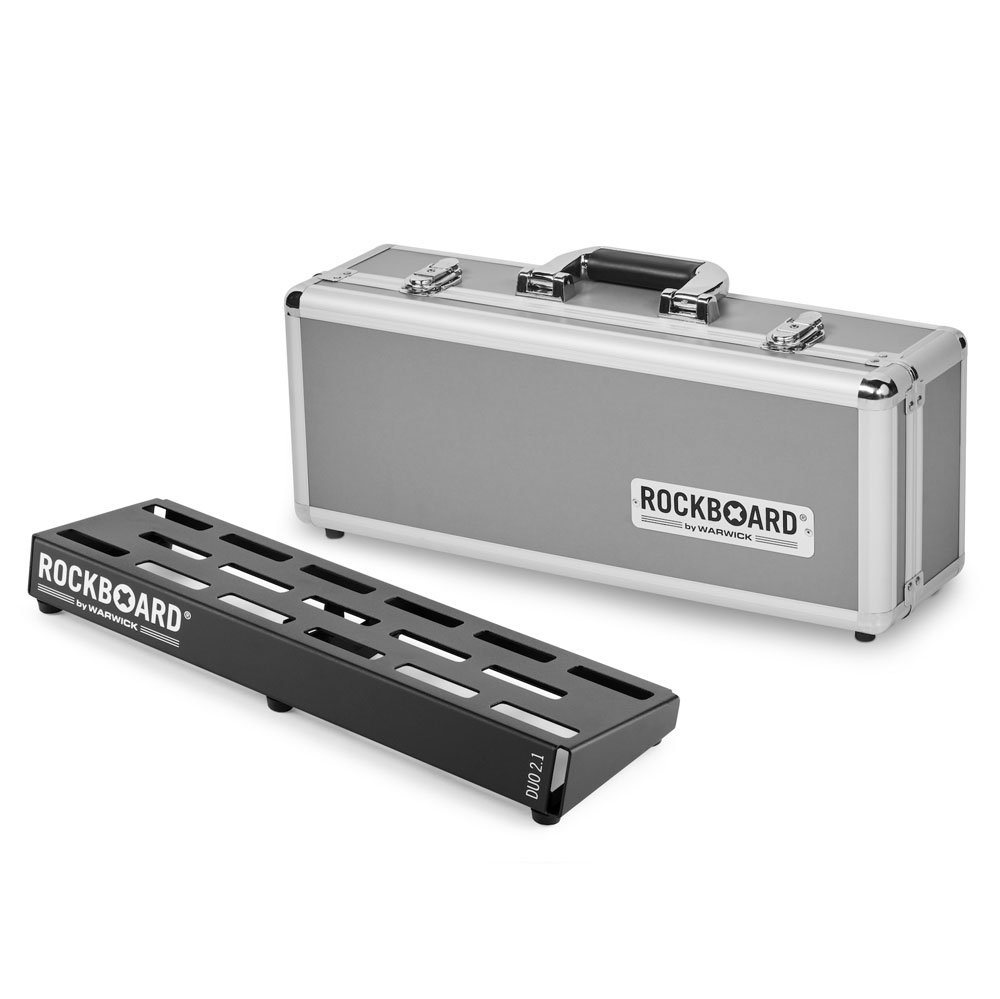 RockBoard DUO 2.1 46cm × 14.6cm with Flightcase ペダルボード フライトケース付き
