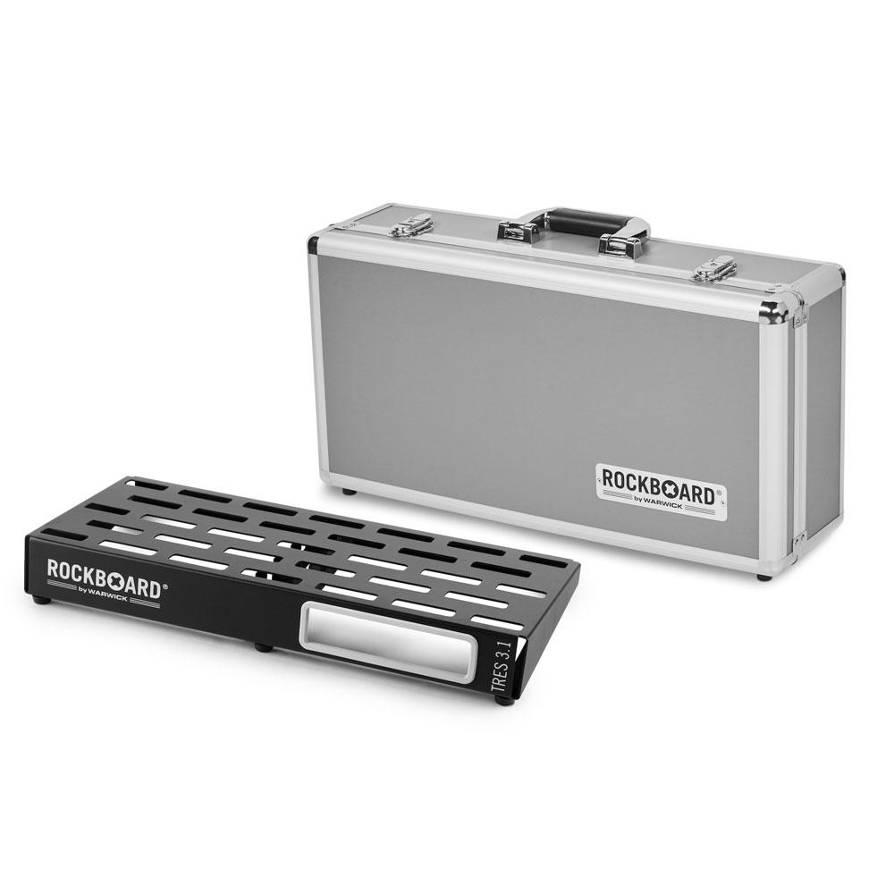 RockBoard TRES 3.1 51cm × 23.6cm with Flightcase ペダルボード フライトケース付き