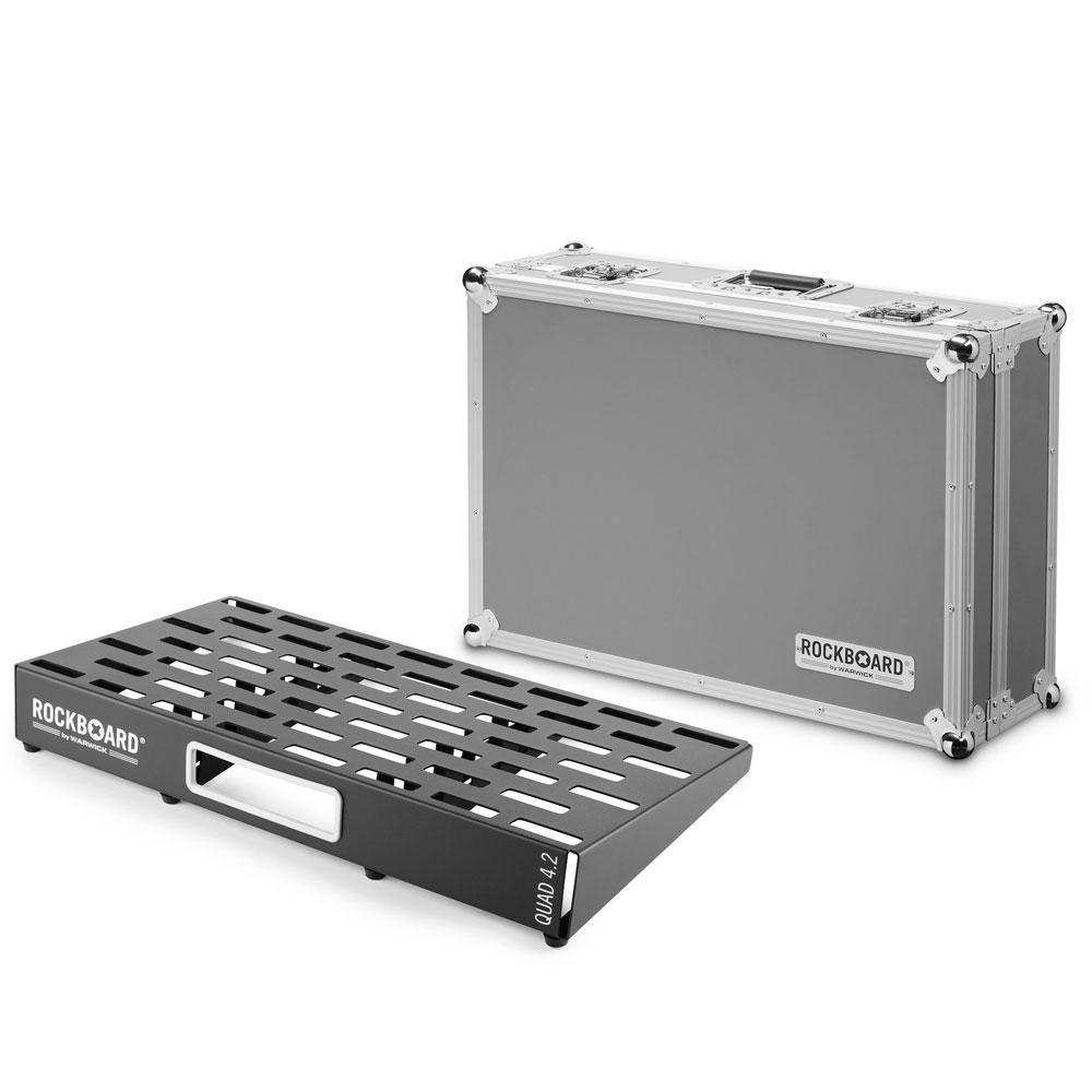 RockBoard QUAD 4.2 61cm × 32.6cm with Flightcase ペダルボード フライトケース付き