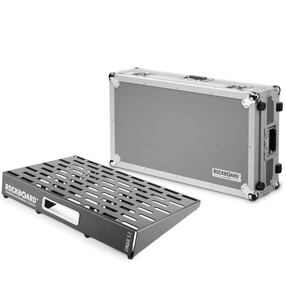 RockBoard CINQUE 5.2 61cm × 41.6cm with Flightcase ペダルボード フライトケース付き