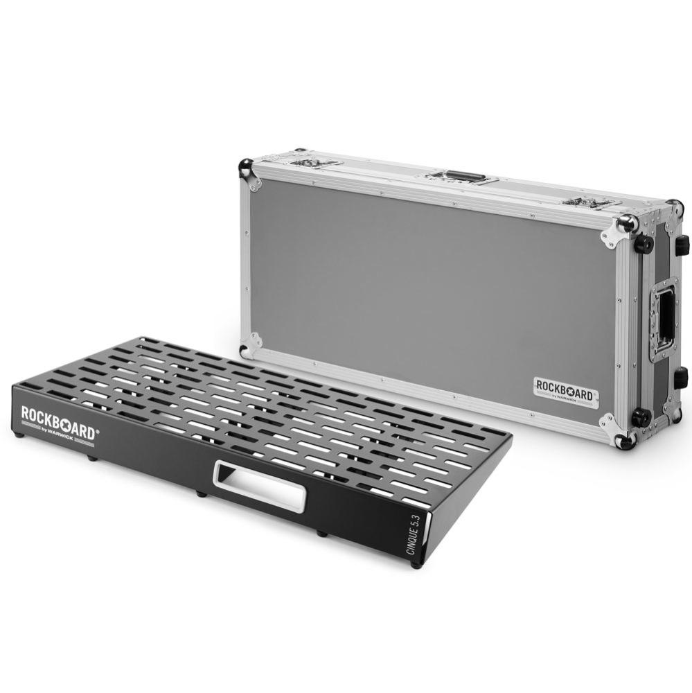 RockBoard CINQUE 5.3 81cm × 41.6cm with Flightcase ペダルボード フライトケース付き