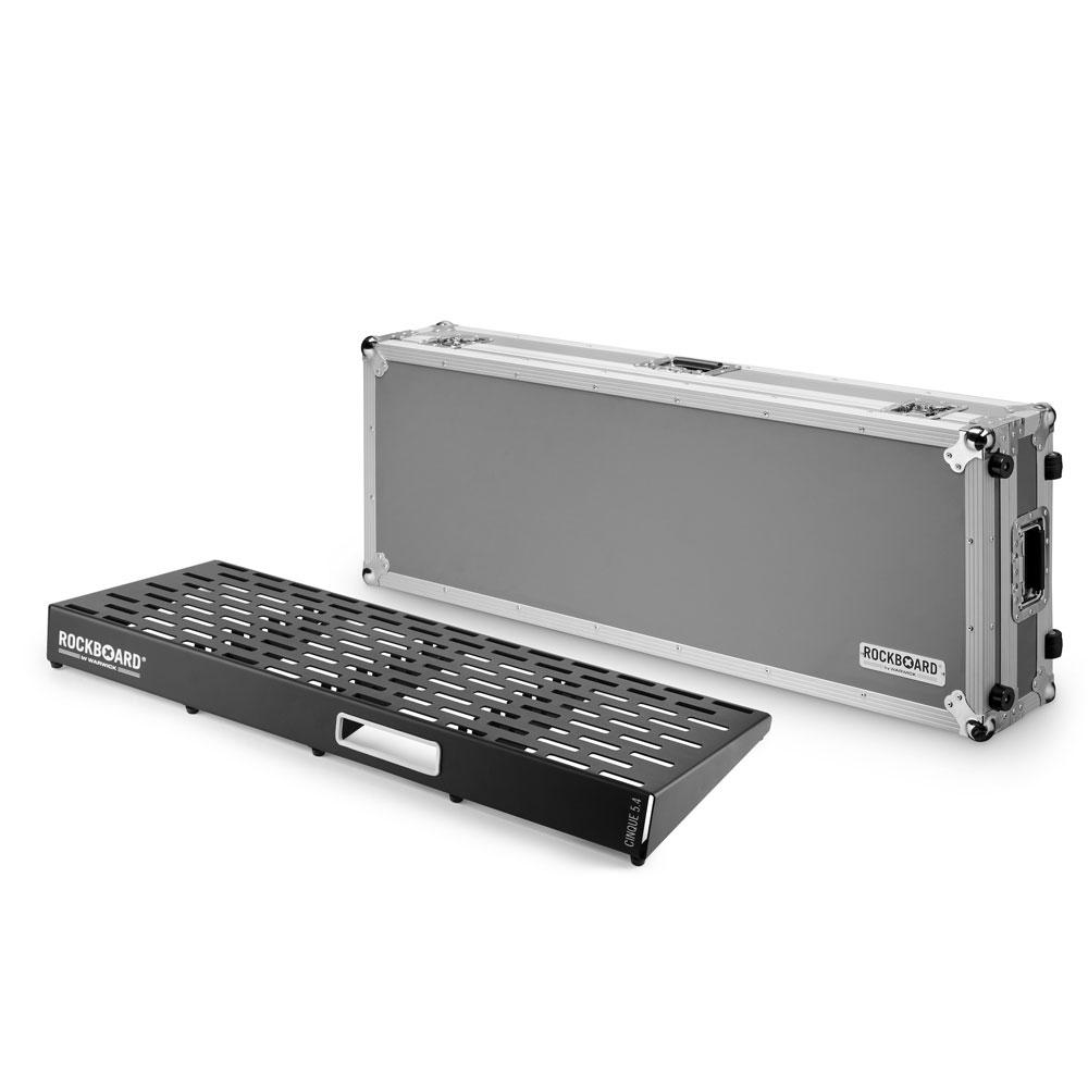 RockBoard CINQUE 5.4 102cm × 41.6cm with Flightcase ペダルボード フライトケース付き