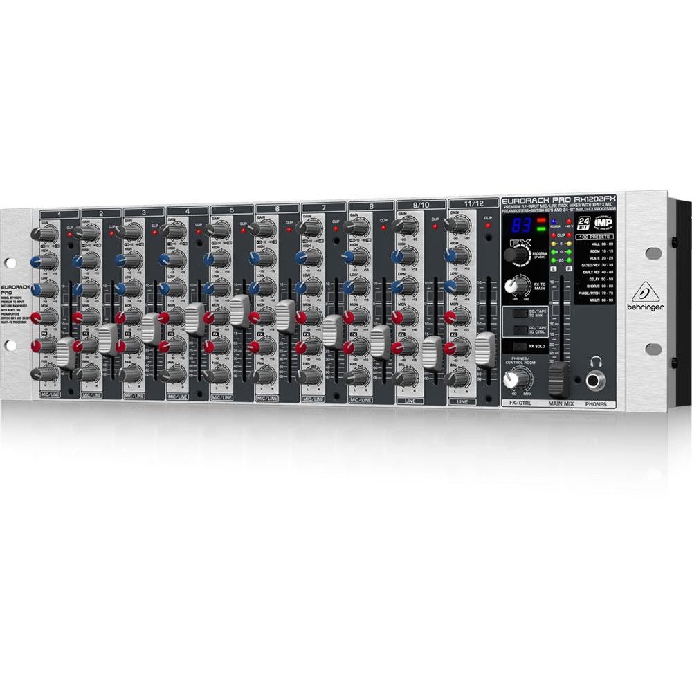 BEHRINGER RX1202FX EURORACK PRO ラックマウントミキサー