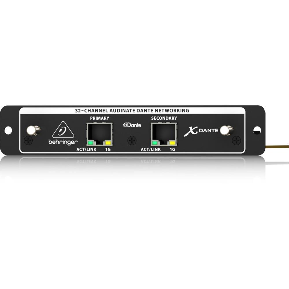 BEHRINGER X-DANTE デジタルミキサー DANTE入出力カード