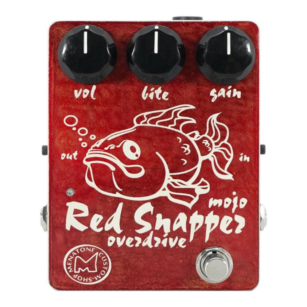 Menatone Red Snapper 3knob オーバードライブ ギターエフェクター