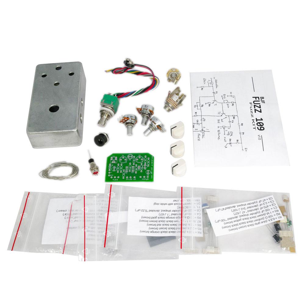 Moody Sounds BJFE Fuzz 109 kit 自作エフェクターKIT