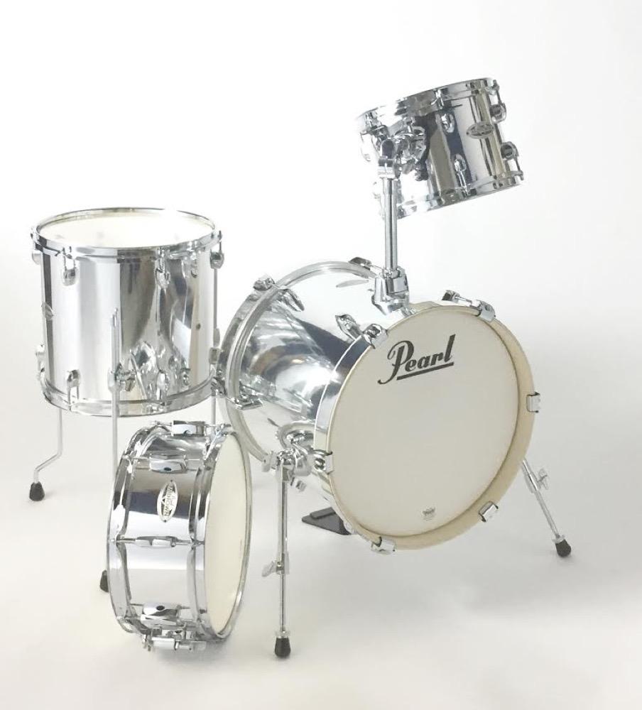 Pearl MDT764P/C MIDTOWN #49 Mirror Chrome ドラムシェルパック