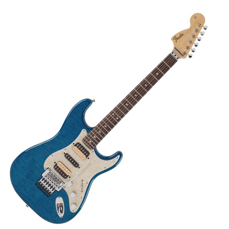 Fender Michiya Haruhata Stratocaster RW Caribbean Blue Trans エレキギター