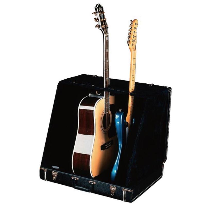 Fender Stage Seven Three Stand Case Black 3本立て ギタースタンド