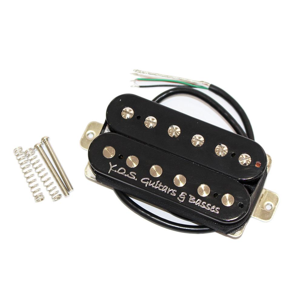 Y.O.S.ギター工房 Smoggy Pickup Humbucker Neck Black