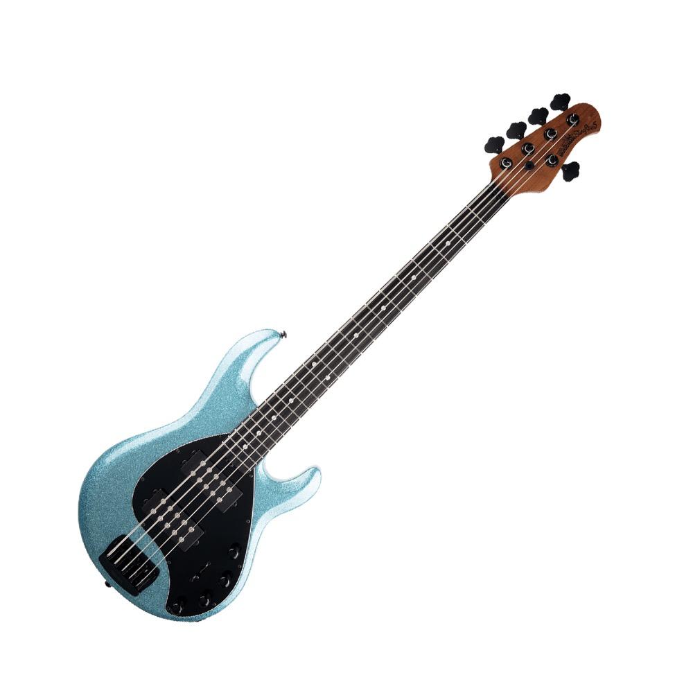 MUSIC MAN StingRay5 Special HH Roasted Maple w/Ebony Aqua Sparkle 5弦エレキベース