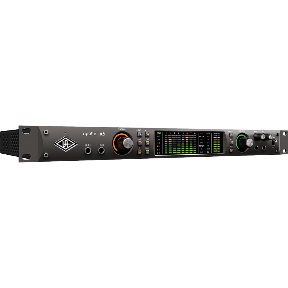 Universal Audio Apollo X6 16イン/22アウト Thunderbolt 3 オーディオインターフェイス