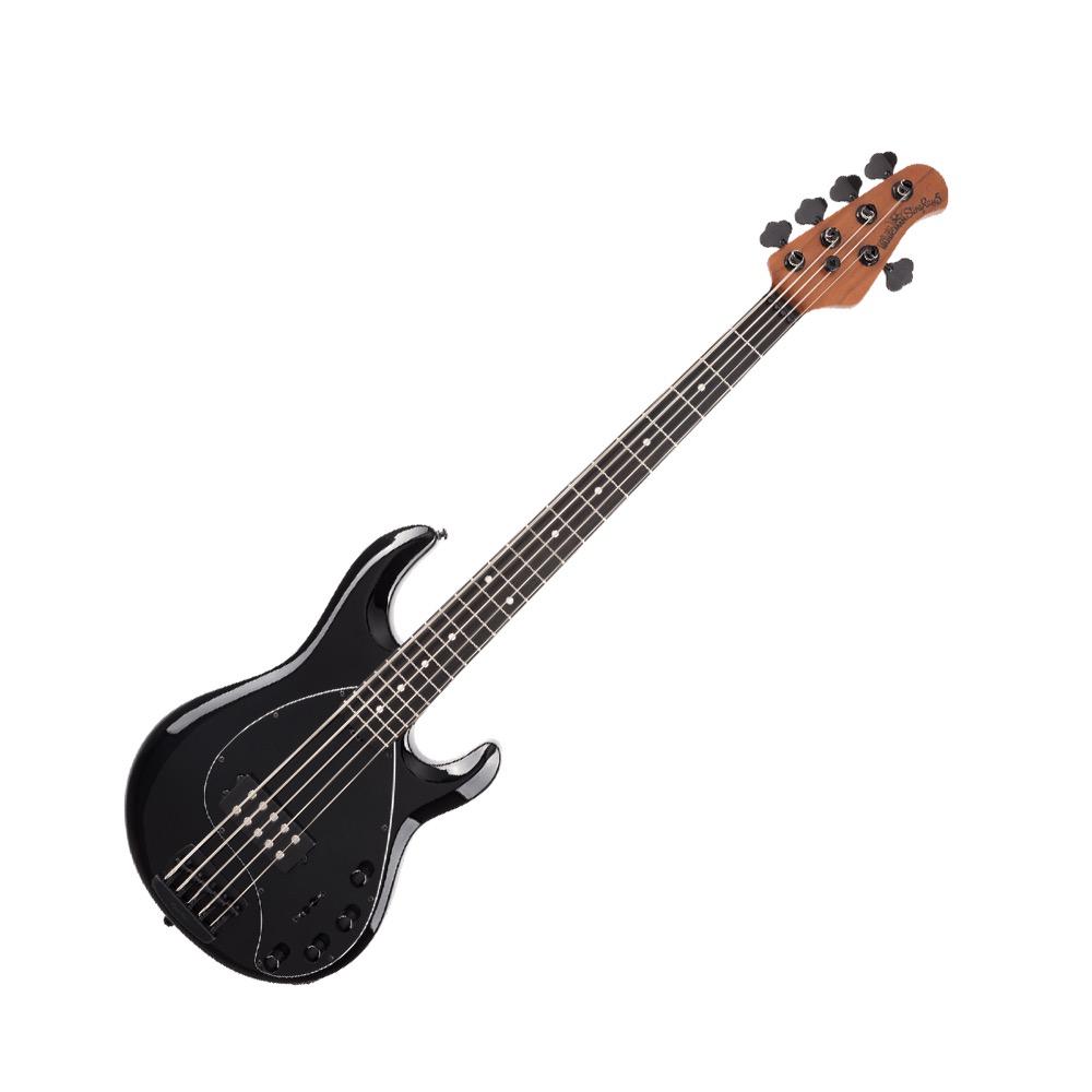 MUSIC MAN StingRay5 Special H Roasted Maple w/Ebony Jet Black 5弦エレキベース