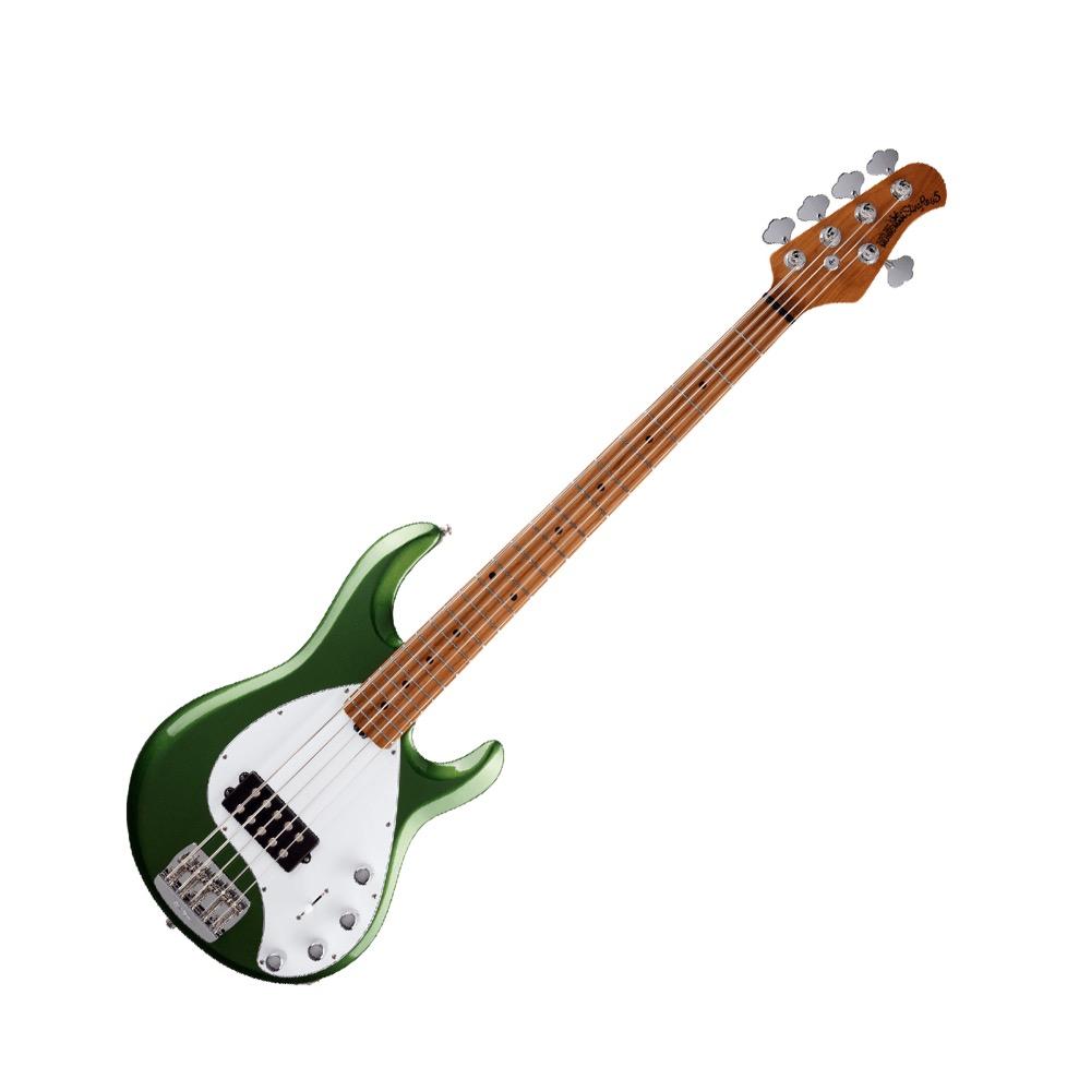 MUSIC MAN StingRay5 Special H Roasted Maple Charging Green 5弦エレキベース