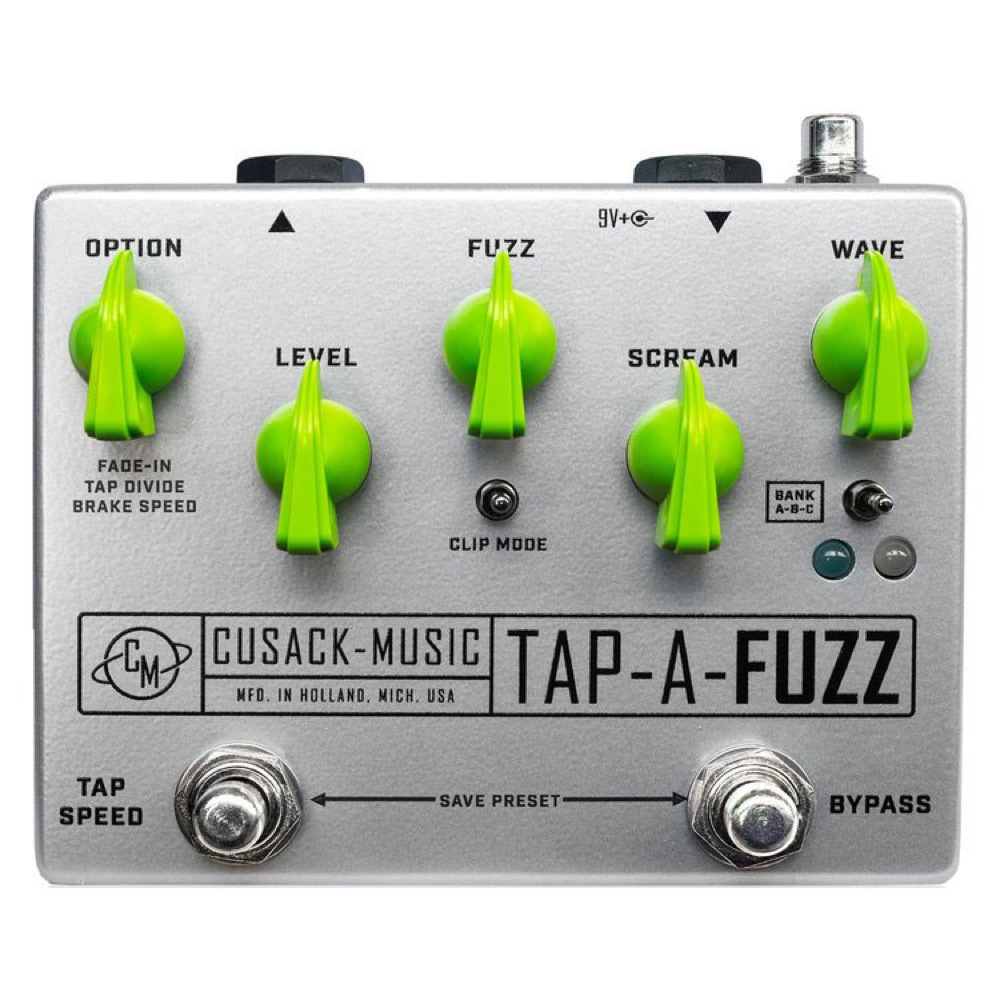 Cusack Music TAP-A-FUZZ ギターエフェクター