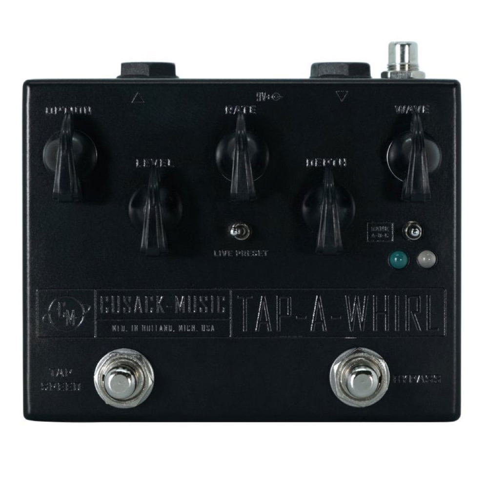 Cusack Music TAP-A-WHIRL ギターエフェクター