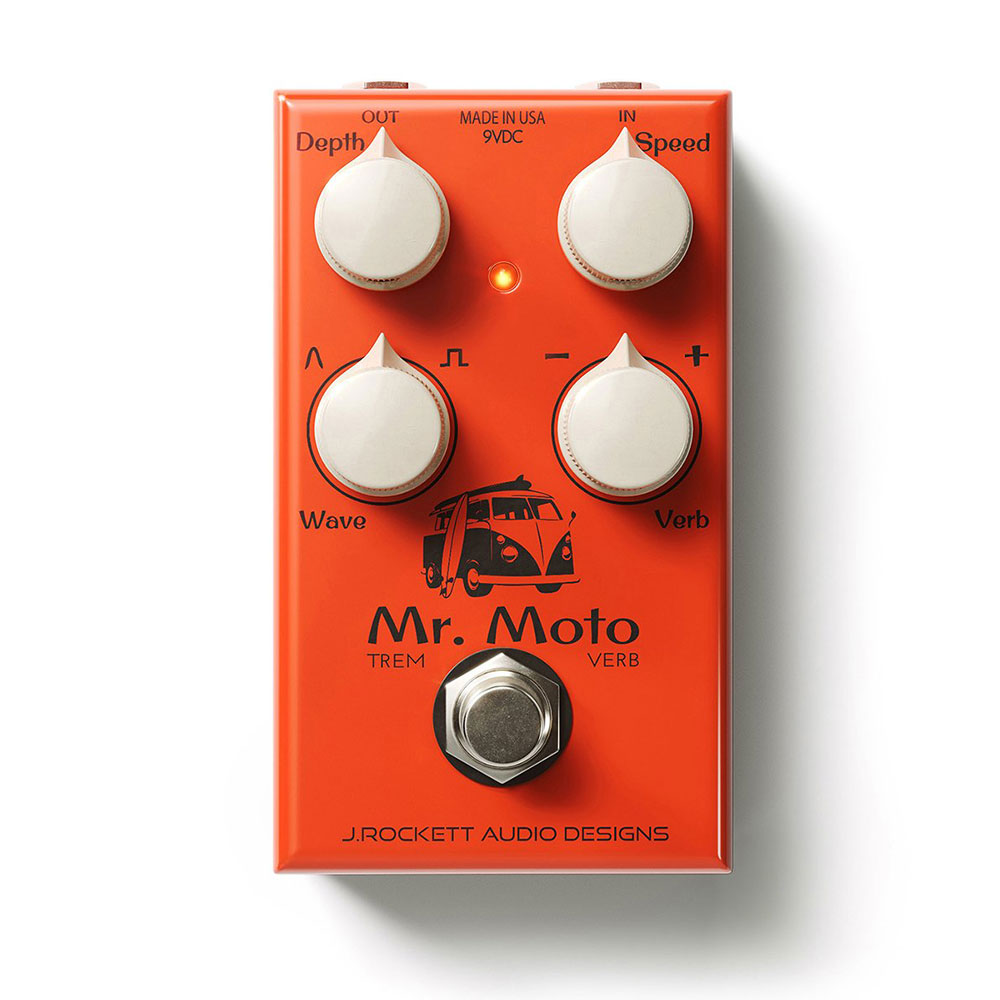 J Rockett Audio Designs Mr.Moto ギターエフェクター
