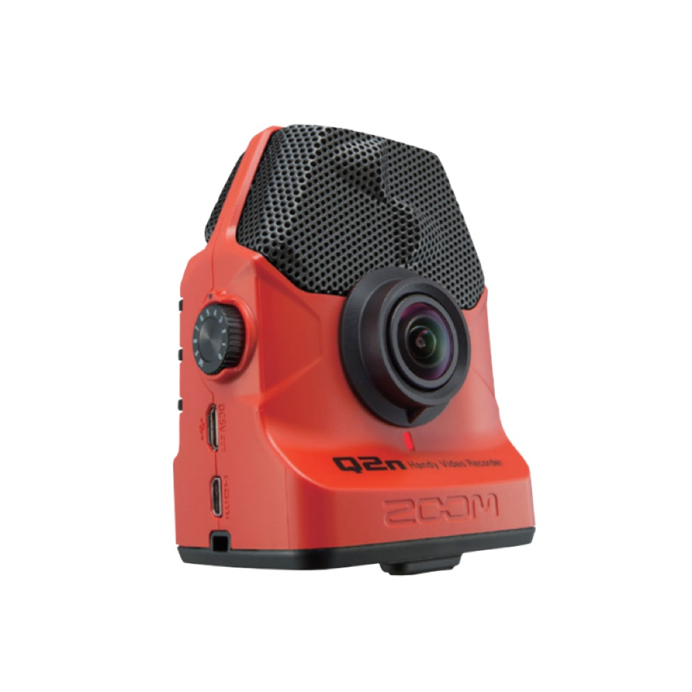 ZOOM Q2n/R Red Handy Video Recorder ハンディビデオレコーダー
