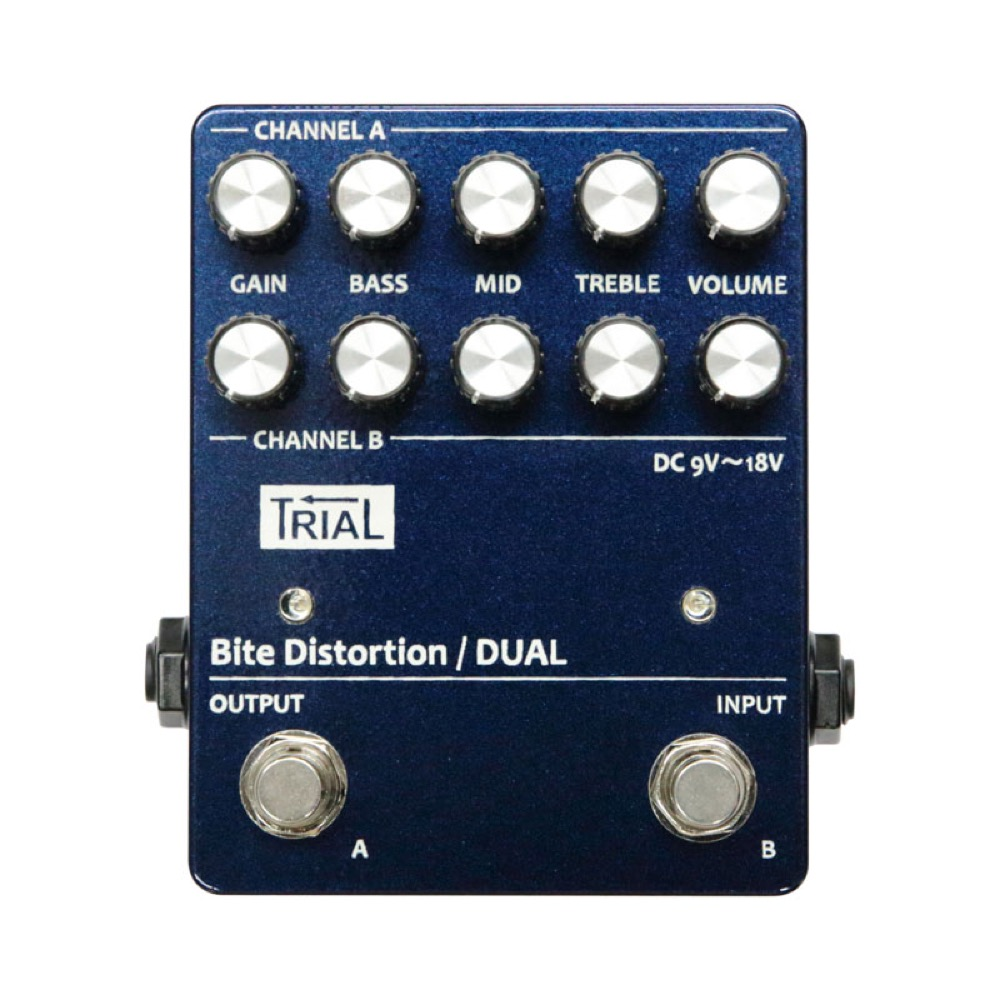 TRIAL Bite Distortion Dual ディストーション エフェクター
