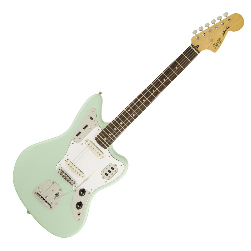 Squier Vintage Modified Jaguar Laurel Fingerboard Surf Green エレキギター