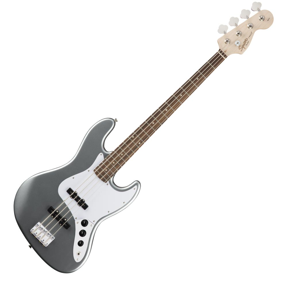 Squier Affinity Series Jazz Bass Laurel Fingerboard Slick Silver エレキベース
