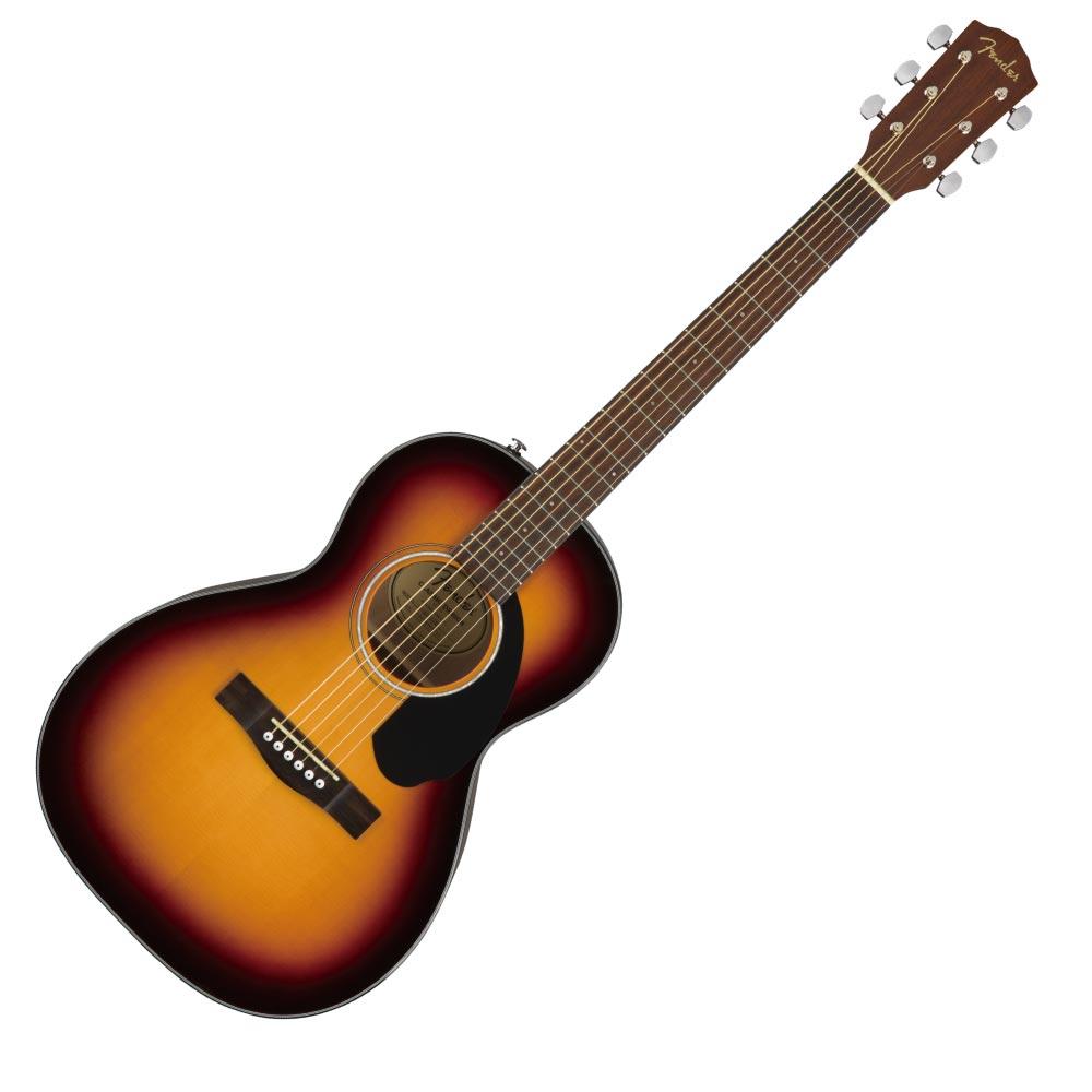 Fender CP-60S Parlor Walnut Fingerboard Sunburst アコースティックギター