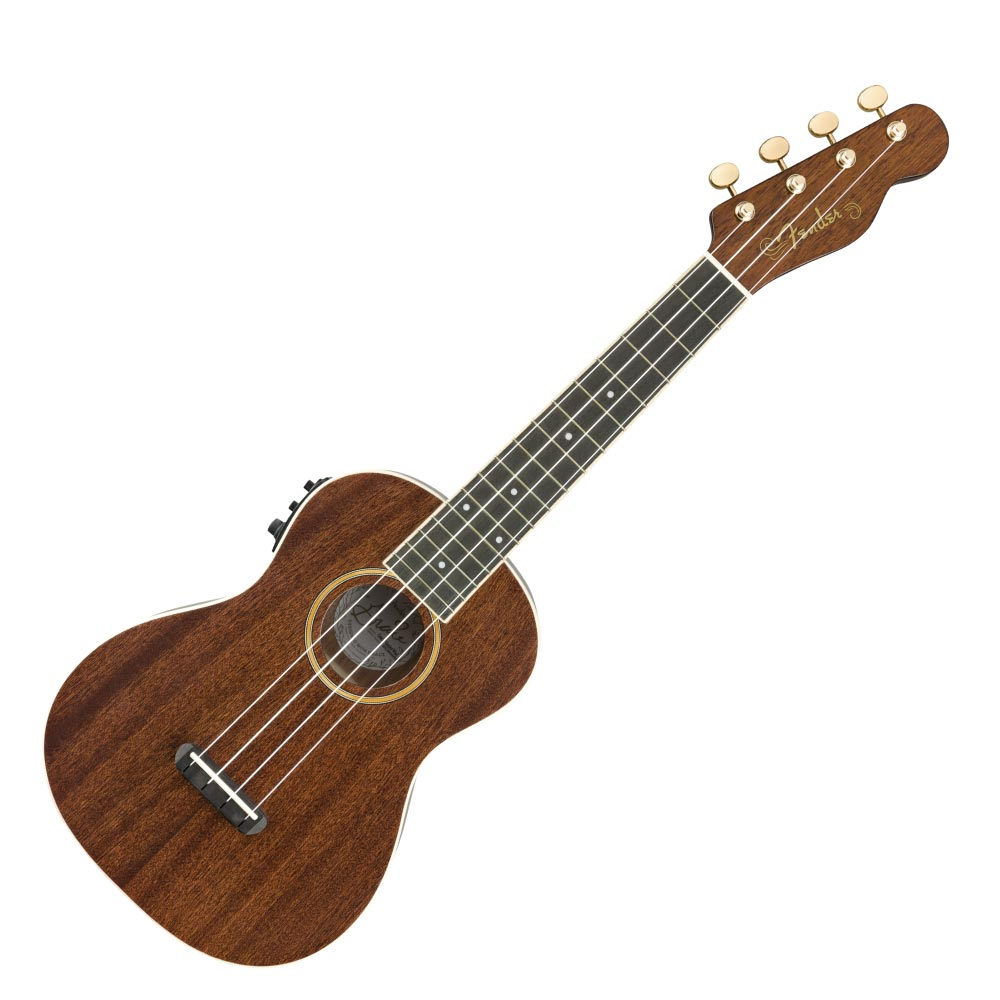 Fender Grace VanderWaal Signature Uke Walnut Fingerboard Natural コンサート ウクレレ