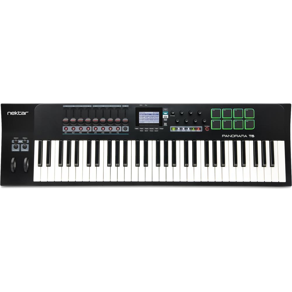 Nektar Technology Panorama T6 61鍵 MIDIコントローラー キーボード