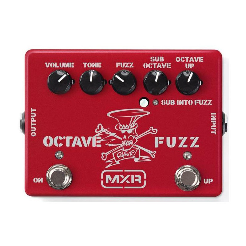 MXR SF01R SLASH LTD OCTAVE FUZZ APPLE RED ファズ エフェクター