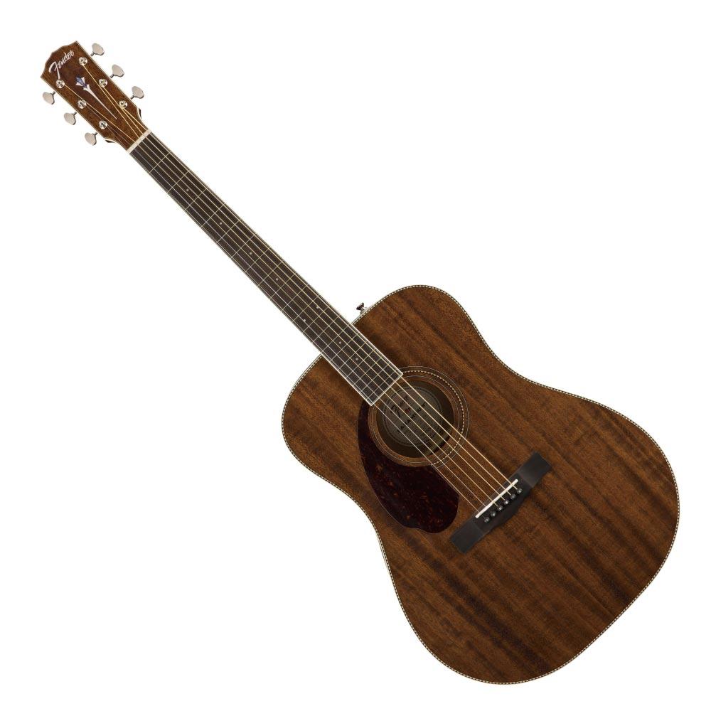 【別倉庫からの配送】 Fender PM-1 Dreadnought LH Ovangkol Fingerboard All-Mahogany レフティ アコースティックギター, Deckfree 266d10fe