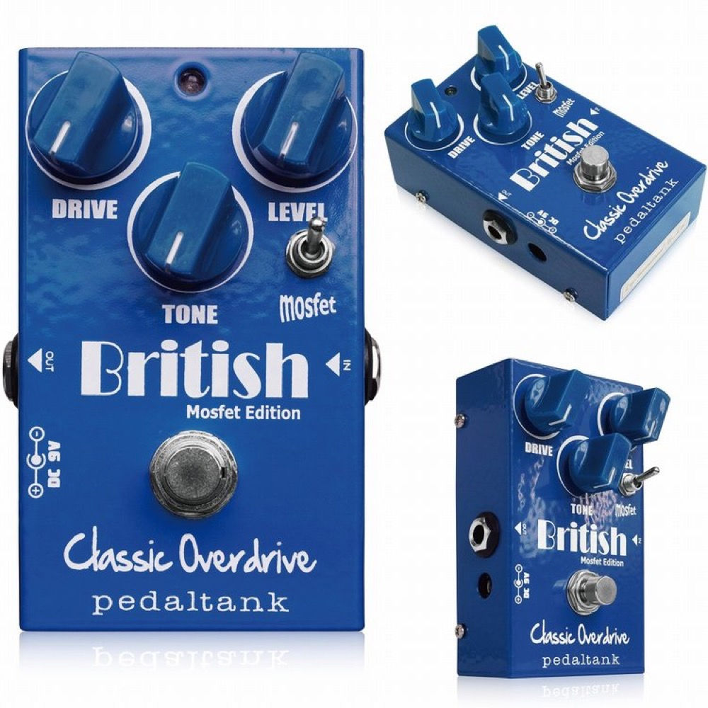 Pedal Tank British Classic Overdrive ギターエフェクター