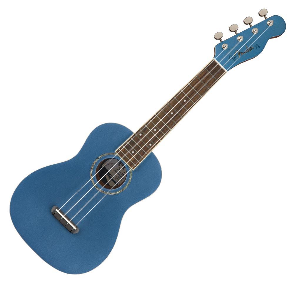 Fender Zuma Classic Concert Ukulele WN Lake Placid Blue コンサートウクレレ