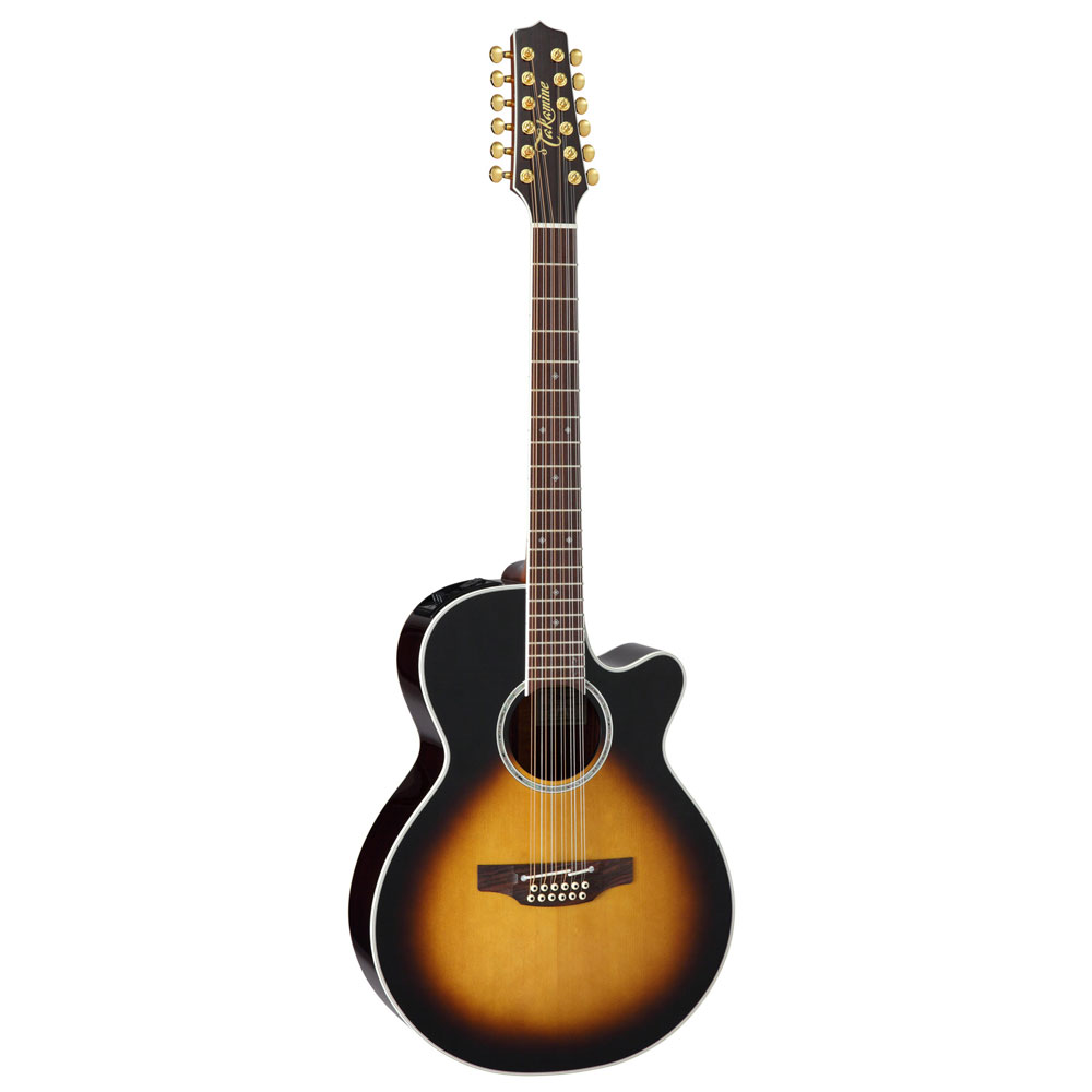 TAKAMINE PTU141C-12 TBS 12弦 エレクトリックアコースティックギター